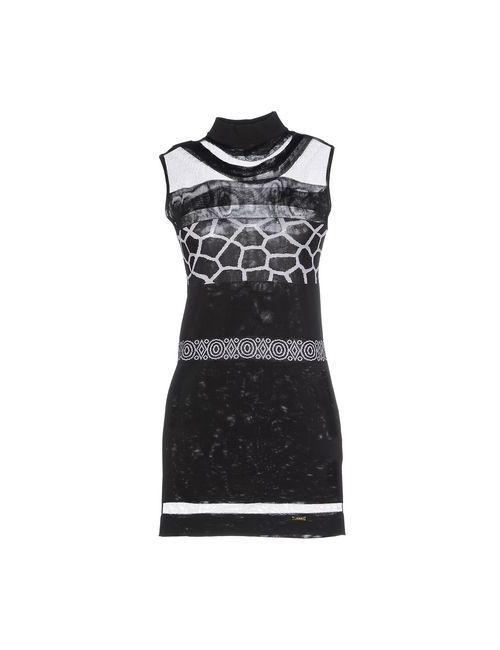 Just Cavalli | Женское Черный Короткое Платье
