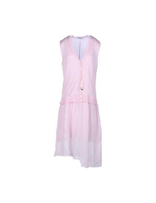 Nina Ricci | Женское Розовое Платье До Колена