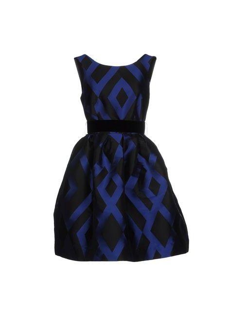 P.A.R.O.S.H. | Женское Синее Короткое Платье