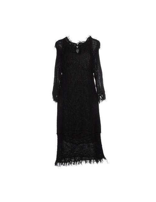 Isabel Marant | Женское Чёрное Платье До Колена