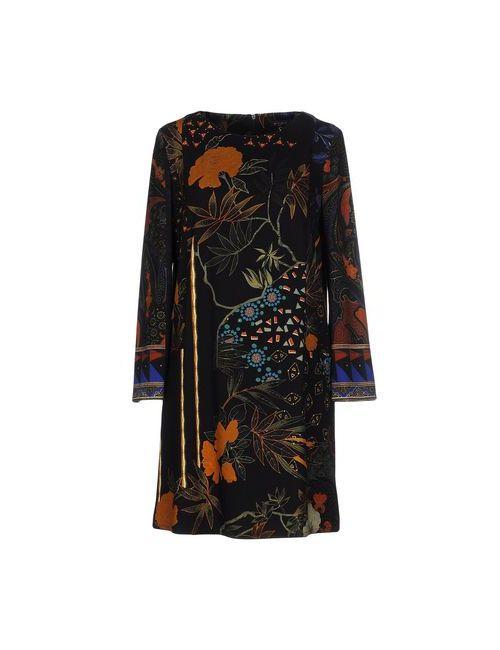 Etro | Женское Чёрное Короткое Платье