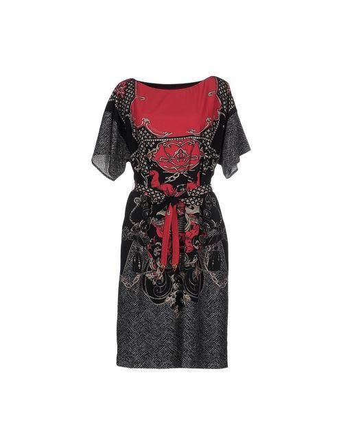 Class Roberto Cavalli | Женское Фиолетовое Короткое Платье