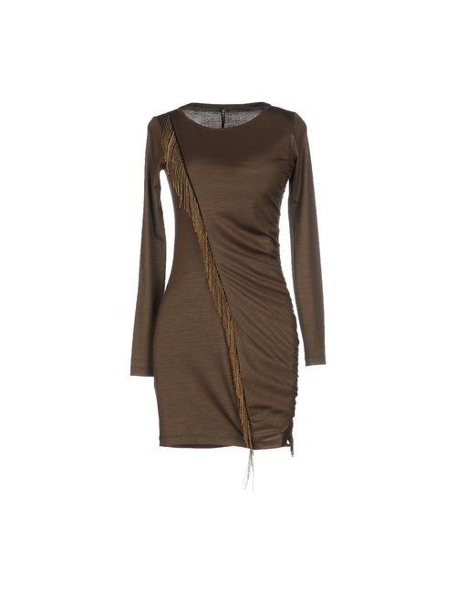 Plein Sud | Женское Зелёное Короткое Платье