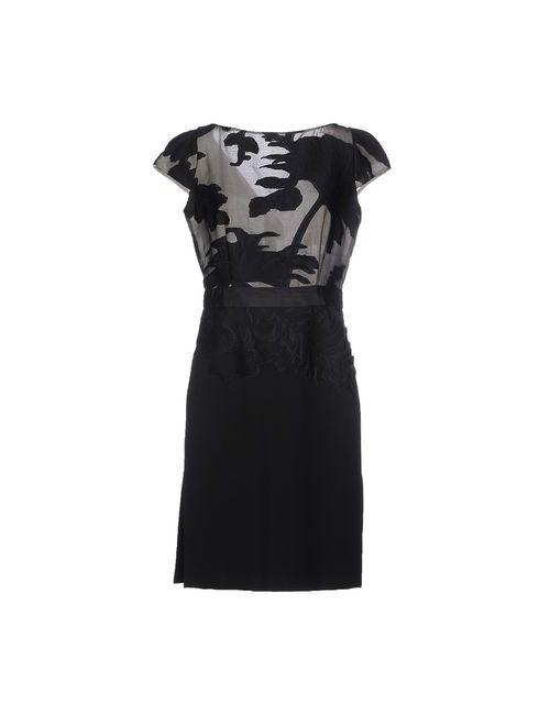 Blumarine | Женское Чёрное Короткое Платье