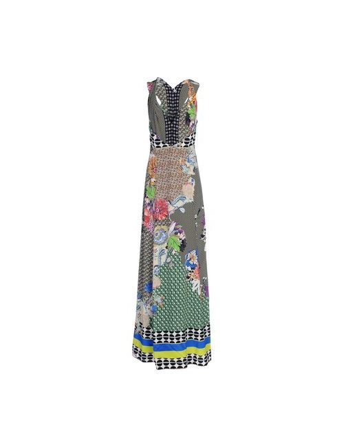 Etro   Женское Черный Длинное Платье