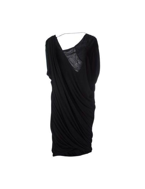 Pinko Black | Женское Черный Платье До Колена