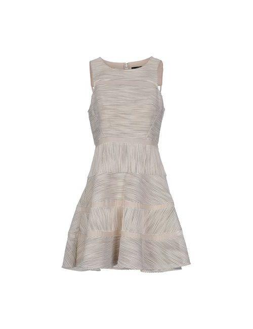 Tibi | Женское Слоновая Костящее Короткое Платье