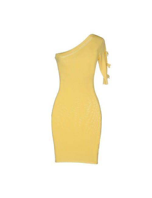 ELISABETTA FRANCHI | Женское Жёлтое Короткое Платье
