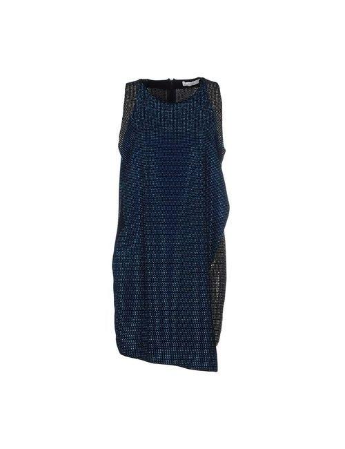 Versace Collection | Женское Синее Короткое Платье