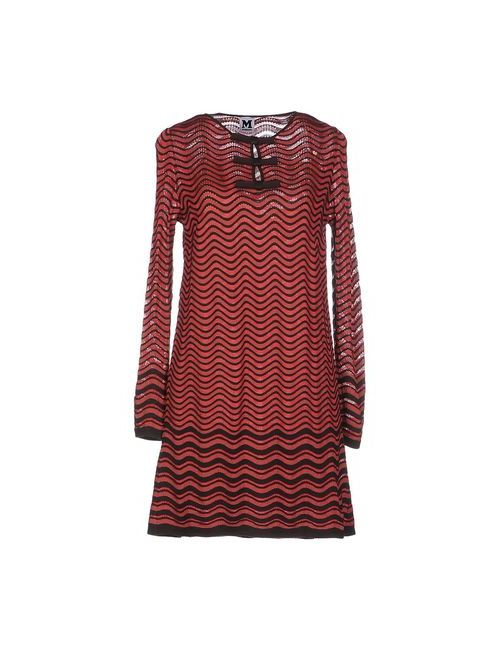 Missoni | Женское Красное Короткое Платье