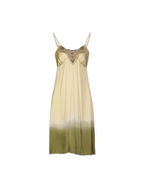 P.A.R.O.S.H. | Женское Жёлтое Платье До Колена