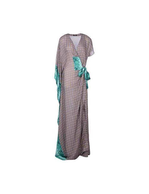 Who*S Who | Женское Фиолетовое Длинное Платье
