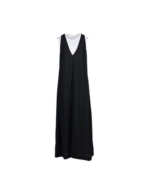 Brunello Cucinelli | Женское Серое Длинное Платье