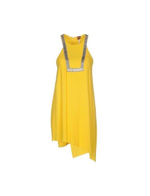 Dondup | Женское Жёлтое Короткое Платье