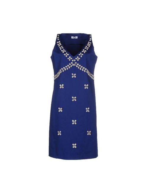 Moschino Cheap and Chic | Женское Синее Короткое Платье