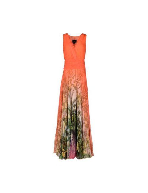 Class Roberto Cavalli | Женское Оранжевое Длинное Платье