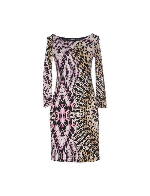 Just Cavalli | Женское Фиолетовое Короткое Платье