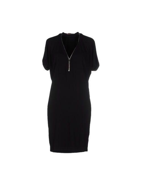 Plein Sud  Fayҫal Amor | Женское Чёрное Короткое Платье