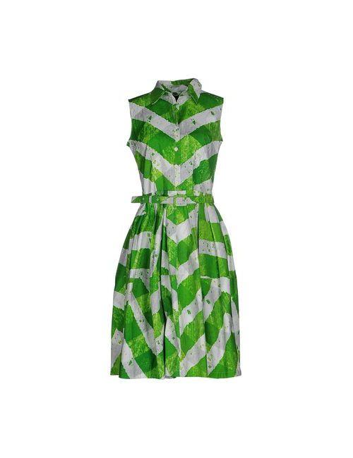 Samantha Sung | Женское Зелёное Платье До Колена