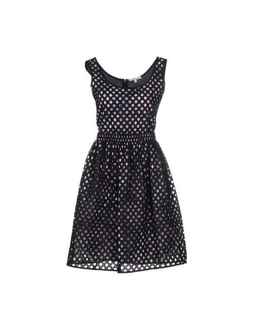 Carven | Женское Черный Короткое Платье