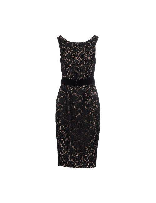 P.A.R.O.S.H. | Женское Черный Платье До Колена