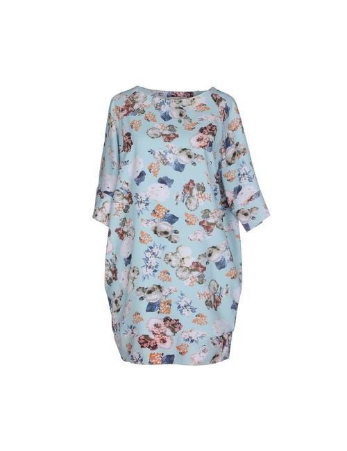 Lou Lou London | Женское Голубое Короткое Платье