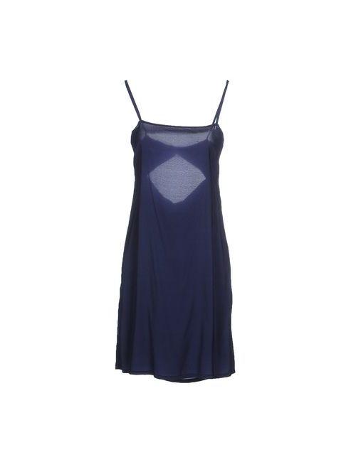 Suoli | Женское Синее Короткое Платье