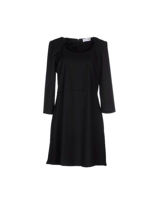 Patrizia Pepe | Женское Чёрное Короткое Платье