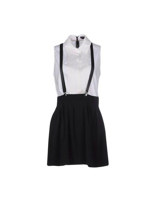 Alice + Olivia | Женское Белое Короткое Платье