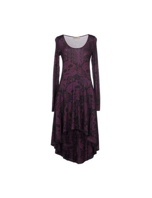 MET & FRIENDS | Женское Фиолетовое Короткое Платье