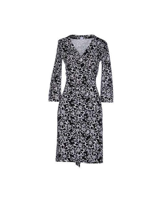 Diane Von Furstenberg   Женское Черный Платье До Колена