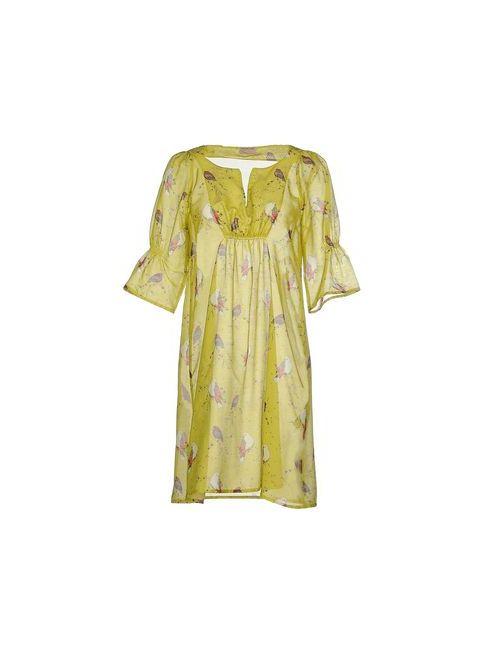 Grazia'Lliani Soon | Женское Зелёное Короткое Платье