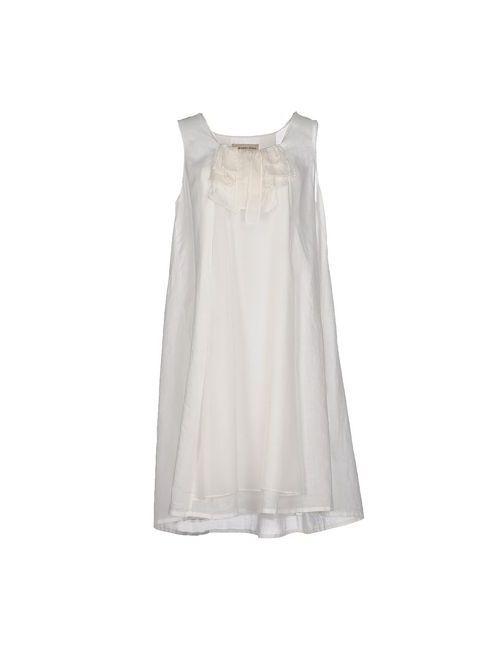 COAST WEBER & AHAUS | Женское Белое Платье До Колена