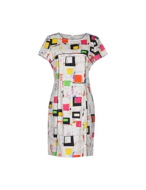 Kenzo | Женское Белое Короткое Платье