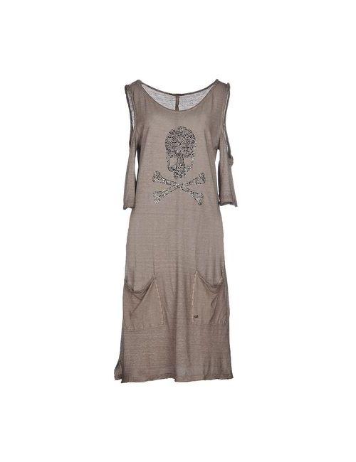 Ra-Re | Женское Хаки Короткое Платье