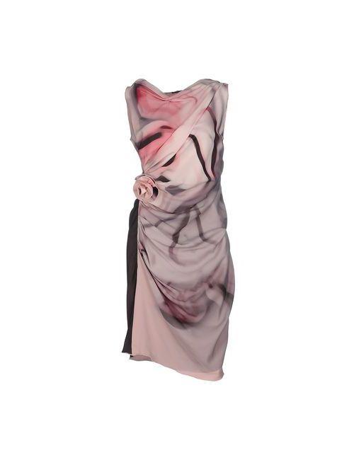 Ivan Montesi | Женское Розовое Короткое Платье
