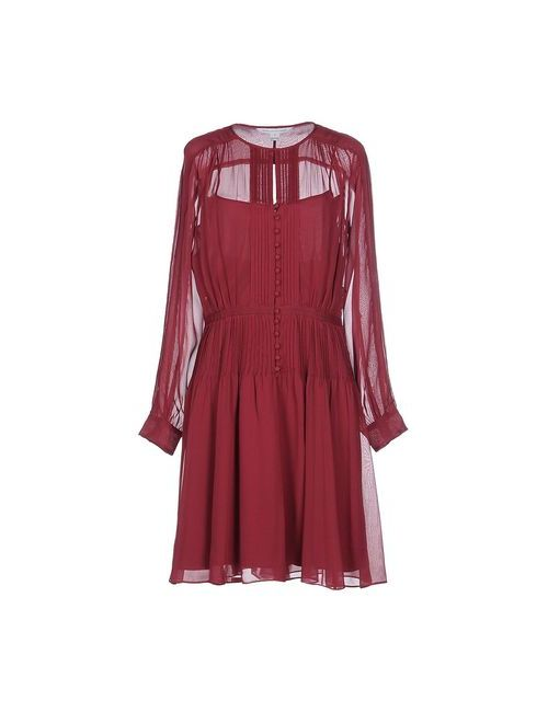 Diane Von Furstenberg | Женское Фиолетовое Короткое Платье