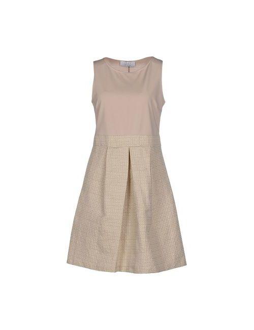 Kaos | Женское Бежевое Короткое Платье