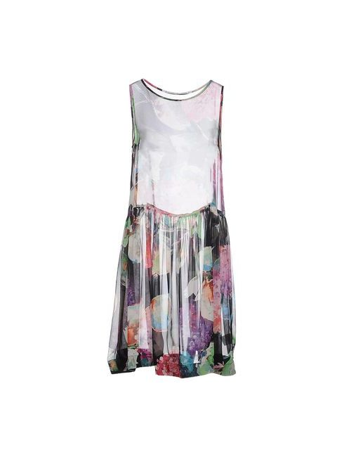 Laviniaturra | Женское Чёрное Короткое Платье