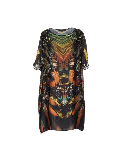 Space Style Concept | Женское Зелёное Короткое Платье