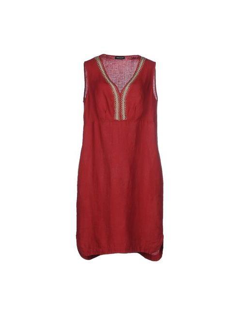 Diana Gallesi | Женское Красное Платье До Колена