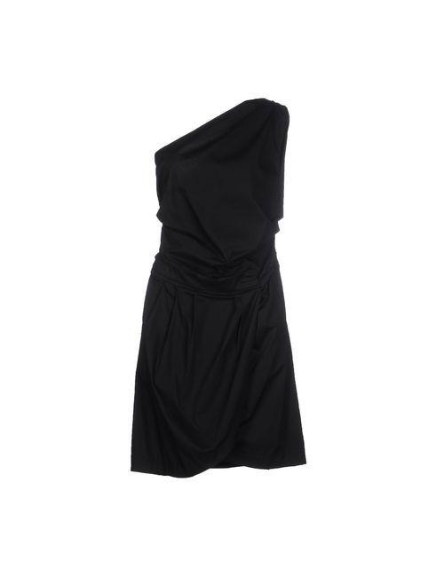 Annarita N. | Женское Чёрное Короткое Платье