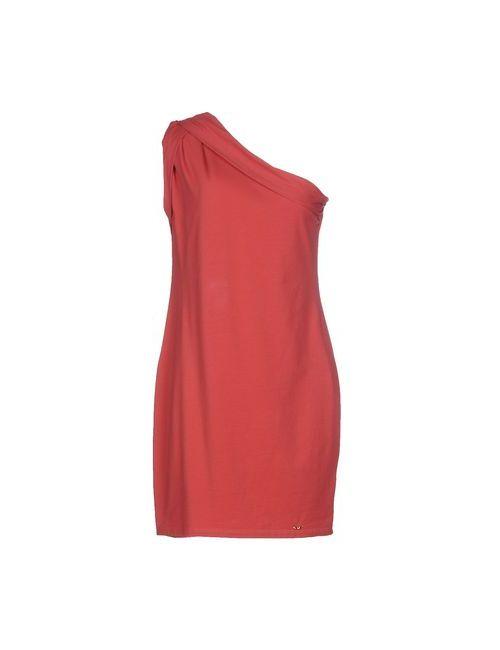 Dek'Her | Женское Красное Короткое Платье