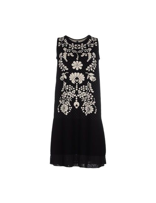 High | Женское Чёрное Короткое Платье
