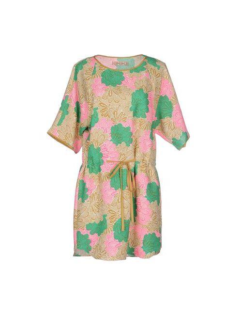 Traffic People | Женское Зелёное Короткое Платье