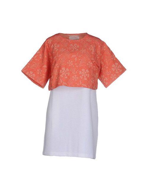 Gaëlle Bonheur | Женское Розовое Короткое Платье