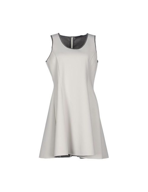 Silvian Heach   Женское Белое Короткое Платье