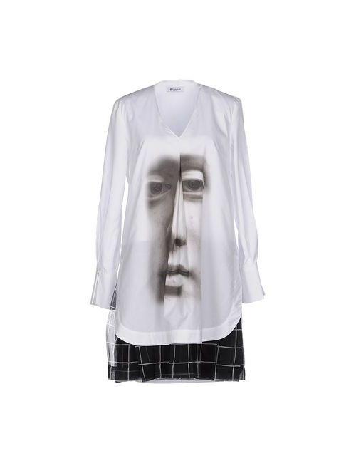 Dondup | Женское Белое Короткое Платье