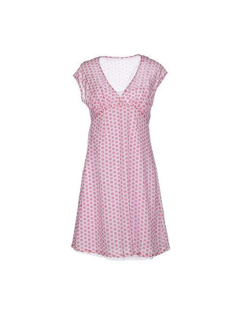 Ottod'Ame | Женское Фиолетовое Короткое Платье