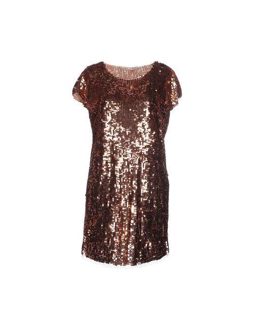 ELISABETTA FRANCHI | Женское Медное Короткое Платье